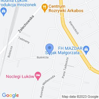"""""""Fuks"""" Firma Handlowo-Usługowa na mapie"""