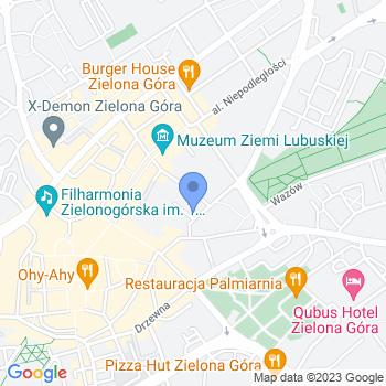 Akademia Przedszkolaka w Zielonej Górze map.on
