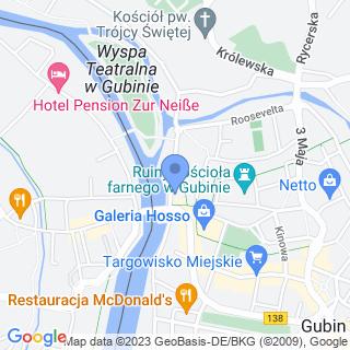 """Zakład Rehabilitacji """"Dorsum"""" Bożena Rutkowska na mapie"""