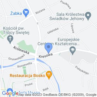 Stowarzyszenie Esquadra Gubin na mapie