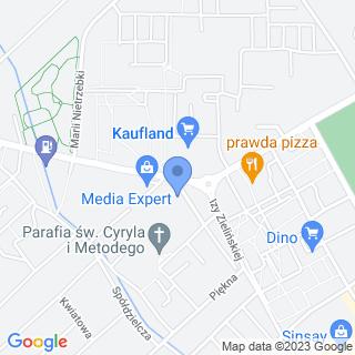 """Salon Fryzjerski """"Basia"""" na mapie"""