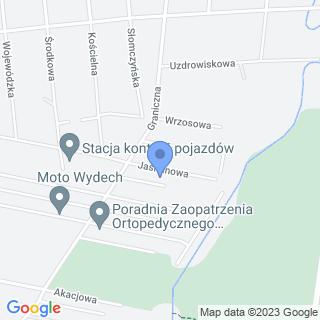 Dariusz Swojskie Jadło u Ewuni na mapie