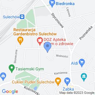 SPZOZ w Sulechowie na mapie