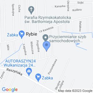 Transport Drogowy Krajowy na mapie