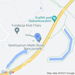 """Stowarzyszenie """"Parafiada"""" im. św. Józefa Kalasancjusza na mapie"""