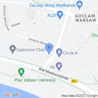 By The Way Gocław na mapie