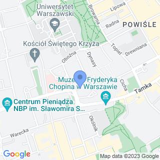 Fundacja Rozwoju Wioślarstwa Polskiego na mapie