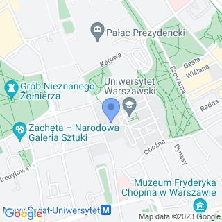 Polskie Towarzystwo Geograficzne na mapie