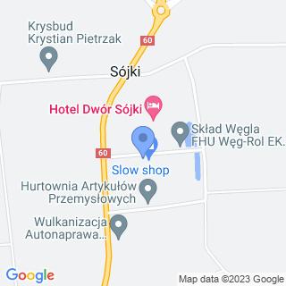 Hurtownia Artykułów Przemysławych na mapie