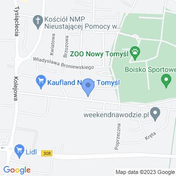 """Akademia Edukacji Montessori """"Małpi Gaj"""" Przedszkole Specjalne map.on"""