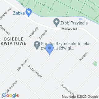 """Domowe Przedszkole """"Chatka Puchatka"""" na mapie"""