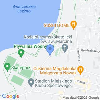 """Swarzędzki Klub Sportowy """"Unia"""" na mapie"""