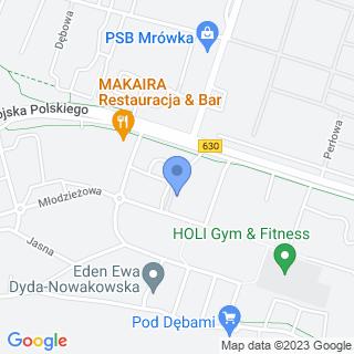 Taxi Osobowe na mapie