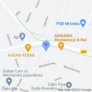 Bielin- Bramy na mapie