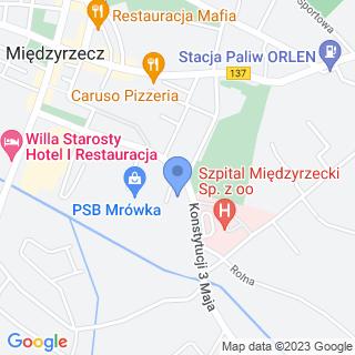 Usługi Pielęgniarsko-Opiekuńcze Teresa Romanów na mapie