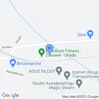 """Stowarzyszenie Abstynenckie Wzajemnej Pomocy """"Oaza"""" na mapie"""