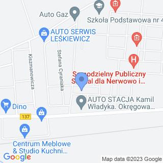 """Niepubliczne Przedszkole """"Bajkowy Dworek"""" na mapie"""