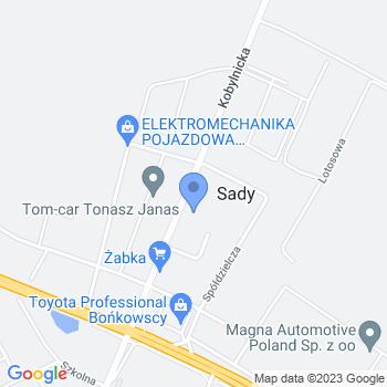 """Przedszkole Publiczne """"Bajkowy Świat"""" z siedzibą w Sadach, ul. Kobylnicka 10c map.on"""