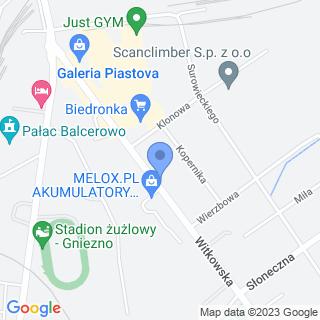 Medifarm na mapie
