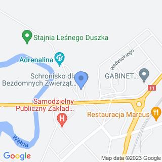 Gabinet Weterynaryjny Janusz Koziński na mapie