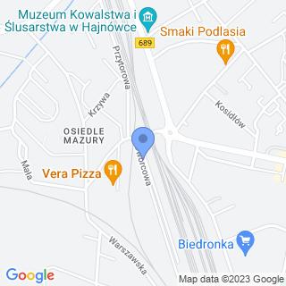 Zakład Fryzjerski na mapie
