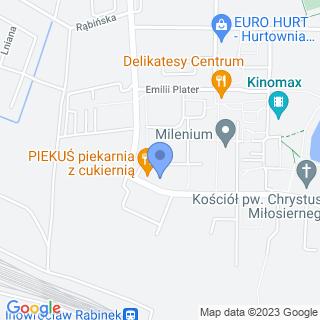 """Niepubliczne Przedszkole """"Juniorek"""" na mapie"""