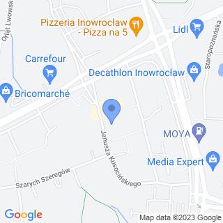 """""""Słoneczko"""" Przedszkole nr 4 z Oddziałami Integracyjnymi na mapie"""