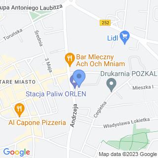 Biuro Rachunkowe na mapie
