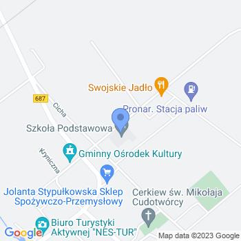 Klub Przedszkolaka w Narewce map.on