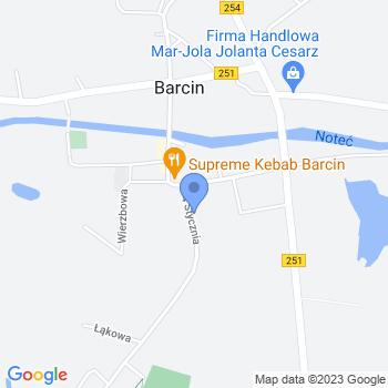 Przedszkole nr 1 w Barcinie map.on