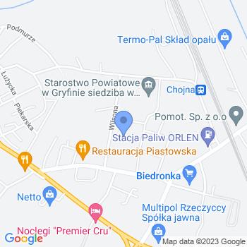Bajkowe Przedszkole Miejskie w Chojnie map.on