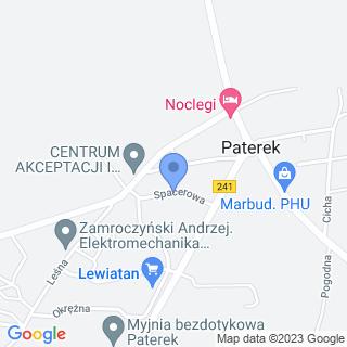 Przedszkole w Paterku na mapie