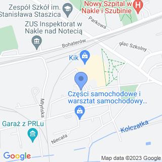 """Przedszkole Niepubliczne nr 6 """"Słoneczko"""" w Nakle nad Notecią na mapie"""