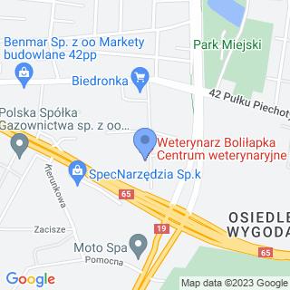 Centrum Weterynaryjne Boliłapka na mapie