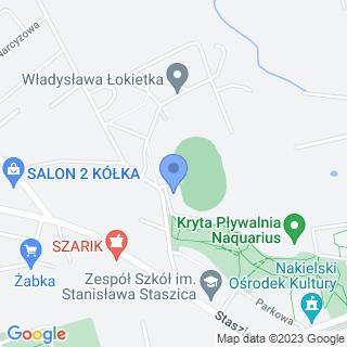 """Klub Sportowy """"Czarni"""" w Nakle Nad Notecią na mapie"""