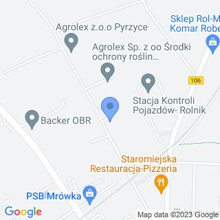 """Przedszkole Niepubliczne """"Piotruś Pan"""" w Pyrzycach na mapie"""