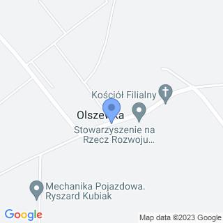 Punkt Przedszkolny Jeżyki w Olszewce na mapie