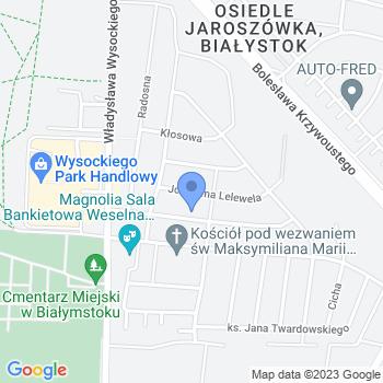 """""""Baśniowy Świat Dziecka"""" w Białymstoku map.on"""