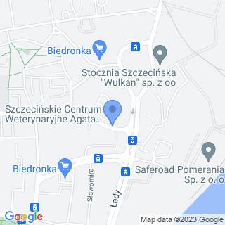 Szczecińskie Centrum Weterynaryjne na mapie