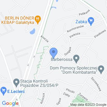 """Anna Rożeńska Przedszkole Niepubliczne """"Talencik"""" map.on"""