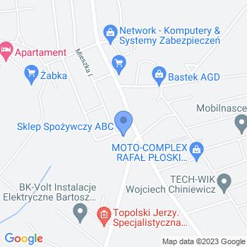 """""""Jaś i Małgosia"""" Przedszkole Niepubliczne Urszula Wielk map.on"""