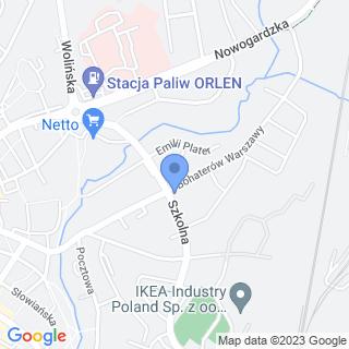 """Przedszkole Publiczne """"Stokrotka"""" w Goleniowie na mapie"""