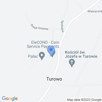 Gminny Klub Sportowy Grom Turowo map.on