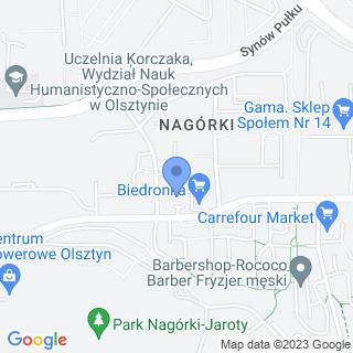 Hura Centrum Rehabilitacji na mapie