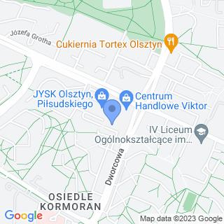 Centrum Rowerowe Olsztyn na mapie