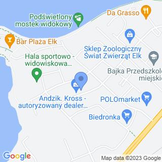Andzik na mapie