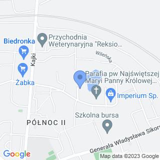 """Kwiatkowska Małgorzata Beata NZOZ """"Mk-Med"""" na mapie"""