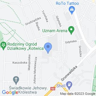 """Przedszkole Miejskie nr 11 z Oddziałami Integracyjnymi """"Tęcza"""" na mapie"""