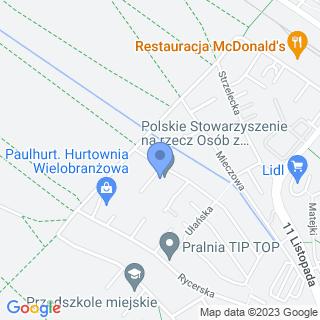 """Niepubliczne Przedszkole Specjalne """"Jeżyk"""" na mapie"""