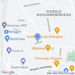 Apteka na Ludowej na mapie